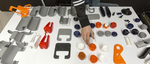قطعات دوچرخه ثابت پرینتر سه بعدی makerBot