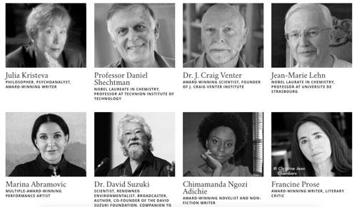 مشارکتکنندگان پرینت سه بعدی کتاب میراث آلبرت انیشتین