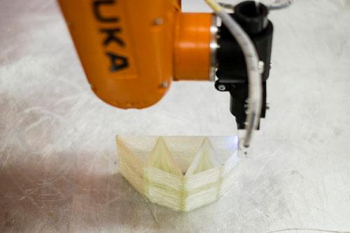 بازوی رباتیک پرینتر سه بعدی الیاف کامپوزیت2 اخبار فناوری