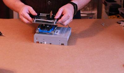 ساخت پرینتر سه بعدی از سی دی رام 10