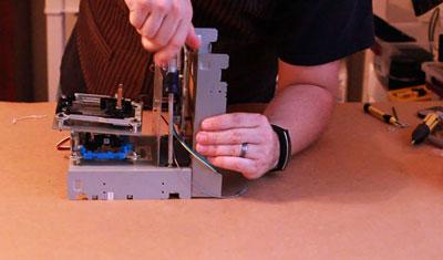 پرینتر سه بعدی سی دی رام 11