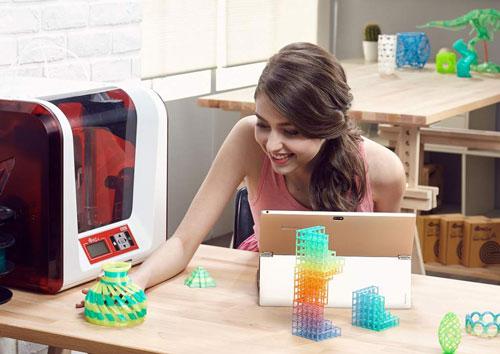 پرینتر سه بعدی رنگی اخبار فناوری