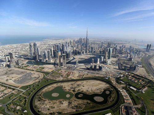 محل احداث برج دبی با فناوری پرینتر سه بعدی