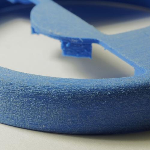 قطعات پرینتر سه بعدی صیقلکای پولیش کاغذ سمباده 100