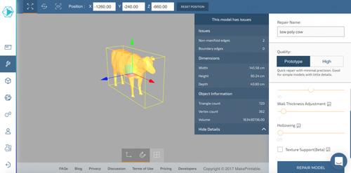 آموزش اصلاح33 خطای فایل مدل سه بعدی پرینتر سه بعدی دانلود رایگان نرم افزار سه بعدی