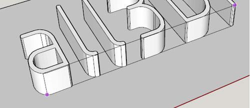 چگونگی گذاشتن پایه برای مدل سه بعدی در نرم افزار اسکچاپ پرینتر سه بعدی پرینت سه بعدی