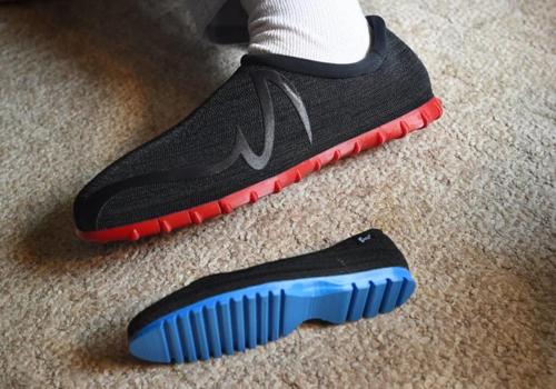 پرینت سه بعدی بزرگترین کفش جهان پرینتر سه بعدی رکورد گینس اسکن سه بعدی پا21