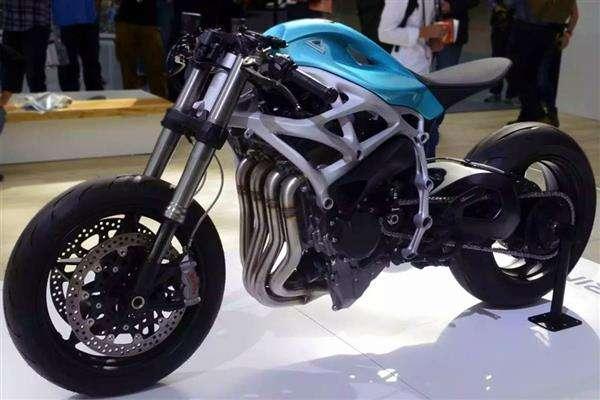 ساخت موتورسیکلت پرینت سه بعدی