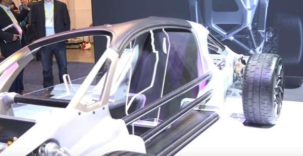 شاسی پرینت سه بعدی خودرو