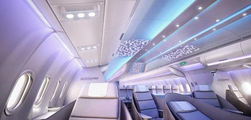 پرینتر سه بعدی طراحی داخلی کابین هواپیما ایرباس اخبار فناوری