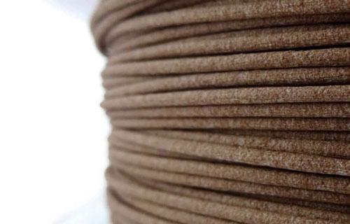 فیلامنت طرح چوب عکسWood PLA پرینت سه بعدی