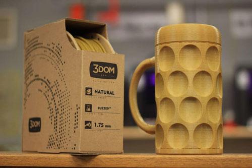 فیلامنت طرح چوب Wood PLA پرینتر سه بعدی