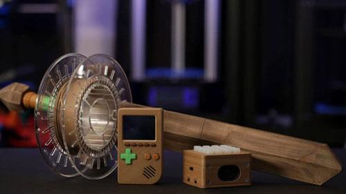 فیلامنت طرح چوب Wood PLA پرینت سه بعدی