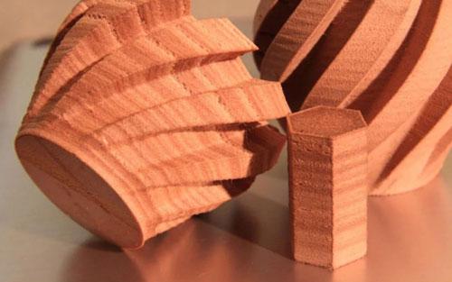 فیلامنت2 طرح چوب Wood PLA پرینت سه بعدی