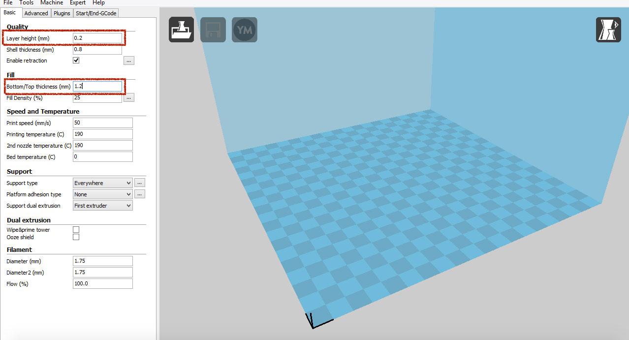 نرم افزار پرینت سه بعدی