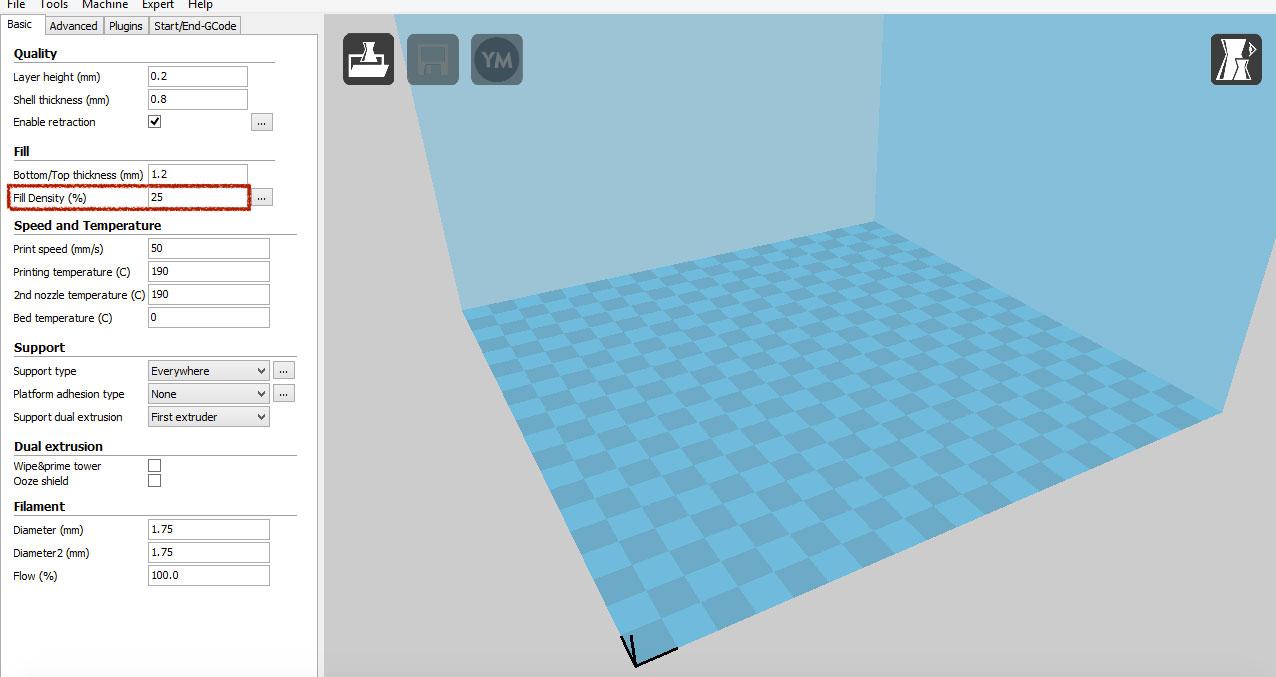 نرم افزار پرینتر سه بعدی