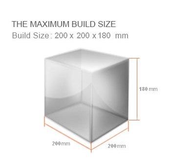ابعاد پرینتر سه بعدی