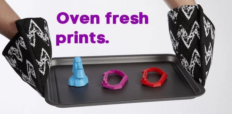 آموزش افزایش مقاومت پرینت سه بعدی متریال فیلامنت با حرارت دهی