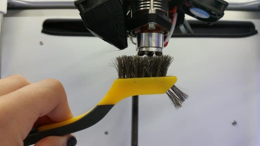تمیز کردن نازل خراب پرینتر سه بعدی - بخش دوم