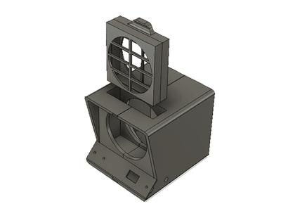 آموزش ساخت و اسمبل تصفیه کننده هوا با پرینتر سه بعدی2