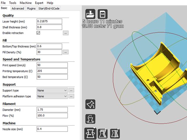 آموزش ساخت و اسمبل تصفیه کننده هوا با پرینتر سه بعدی4