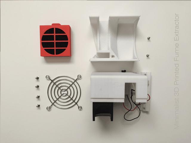 آموزش ساخت و اسمبل تصفیه کننده هوا با پرینتر سه بعدی5