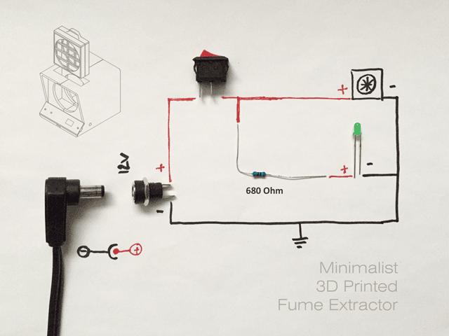 آموزش ساخت و اسمبل تصفیه کننده هوا با پرینتر سه بعدی8
