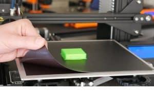 printer bed