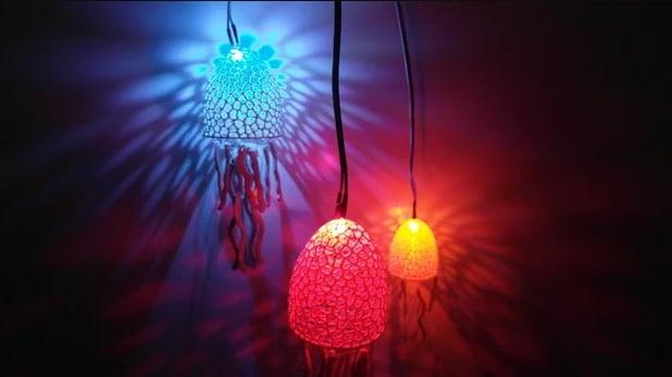 پروژه آخر هفته: پرینت سه بعدی لوستری زیبا