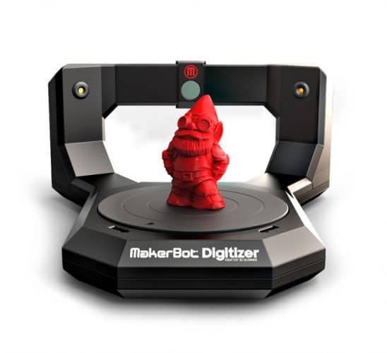 راهنمای راه اندازی اسکنر سه بعدی MAKERBOT DIGITIZER - میکربات