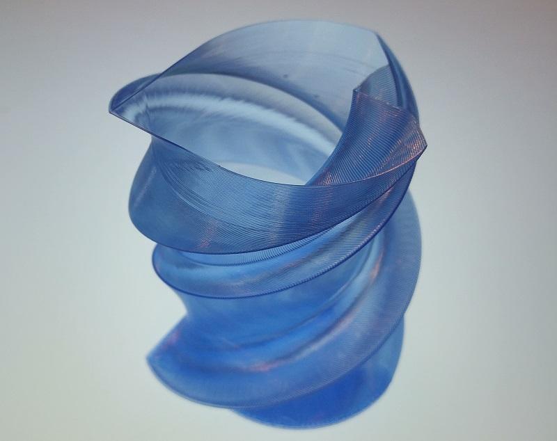 آموزش پرینت سه بعدی با فیلامنت شیشه ای یا شفاف