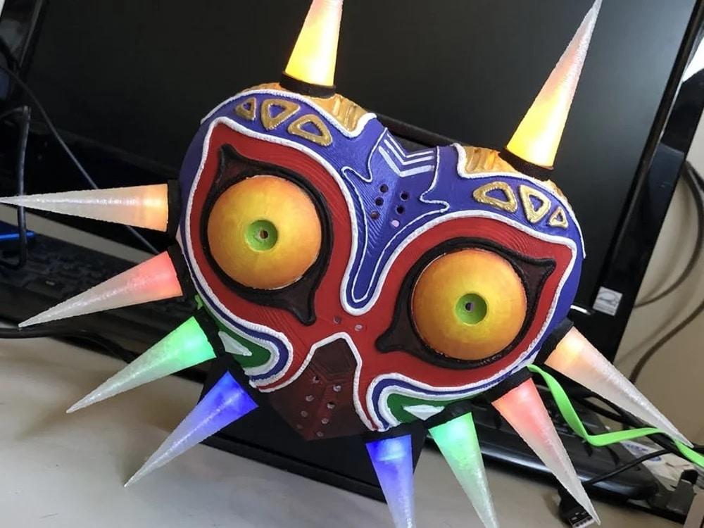 پروژه آخر هفته: آموزش پرینت سه بعدی ماسک بهمراه رنگ آمیزی