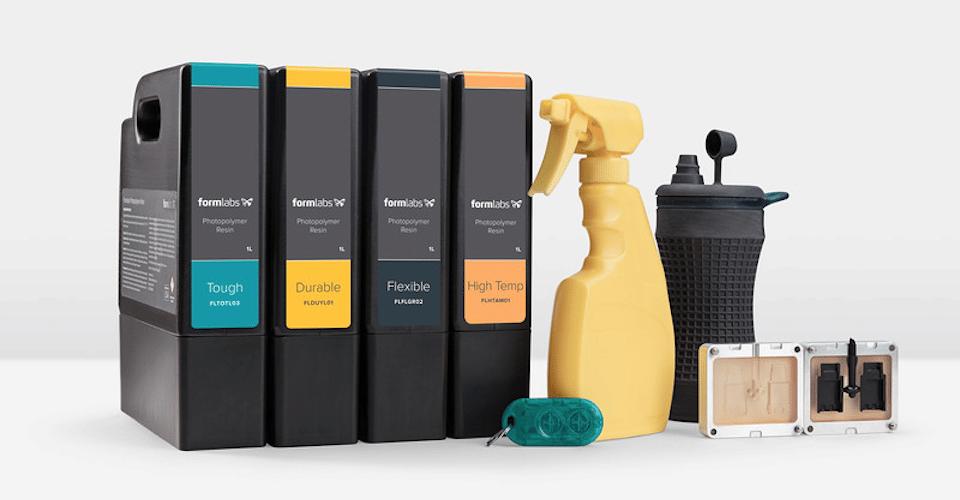 معرفی انواع رزین پرینتر سه بعدی