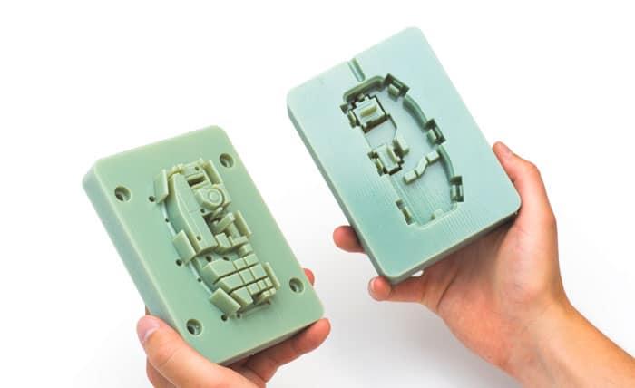 فیلم آموزشی قالبگیری قطعات صنعتی با فلز آلومینیوم توسط چاپگر سه بعدی FDM