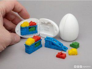 پرینت مدل سه بعدی تخم مرغ شانسی 13
