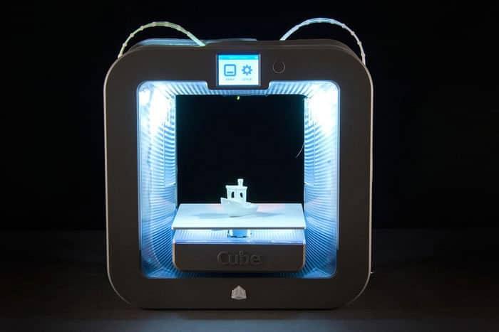 بررسی چاپگر سه بعدی Cube 3
