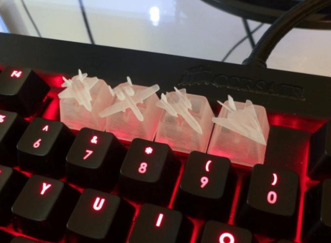 9 مدل از بهترین دکمه های صفحه کلید برای پرینت سه بعدی