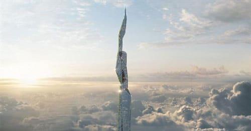 آسمانخراش سه مایلی خود تمیز شونده با تکنولوژی پرینت سه بعدی، معماری آینده را متحول میکند