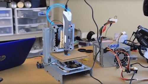 فیلم آموزشی: چطور یک درایور CD-ROM قدیمی را به یک پرینتر سه بعدی ارزان قیمت تبدیل کنیم!