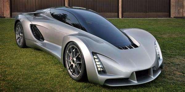 اولین خودروی سوپر اسپرت جهان با تکنولوژی پرینت سه بعدی