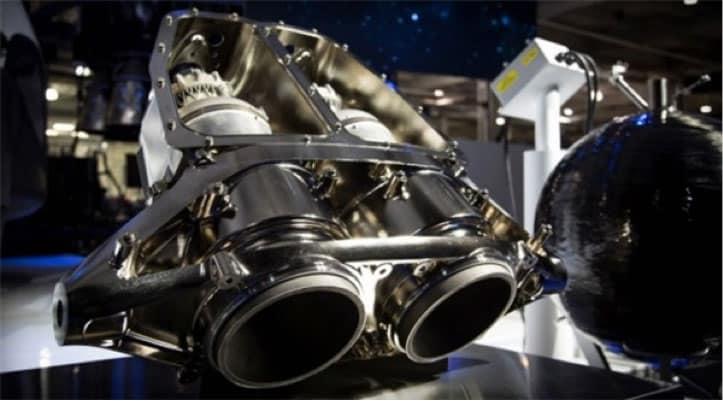 طرح آزمایشی ساخت موتور موشک فضاپیمای سرنشین دار
