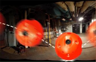 تولید توپ دوربینی 360 درجه با چاپگر سه بعدی برای کمک به نیروهای پلیس