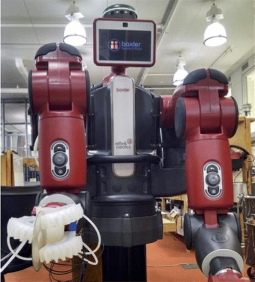 ربات پرینت شده توسط پرینتر سه بعدی توانایی شناسایی و برداشتن همه چیز را دارد
