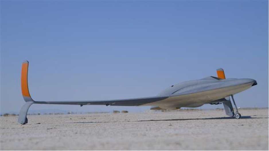 اولین جت بدون سرنشین جهان ساخته شده توسط تکنولوژی پرینتر سه بعدی در نمایشگاه هوایی دبی با سرعت 150مایل بر ساعت شروع به کار می کند