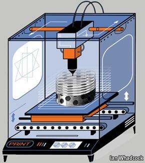 پرینتر سه بعدی چگونه کار میکند