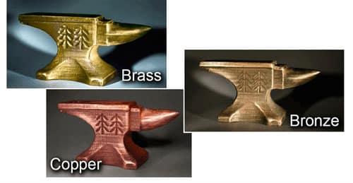 آشنایی با دو نوع فیلامنت پرینتر سه بعدی PLA و ABS طرح فلز، PET
