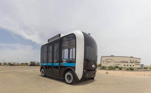پرینت سه بعدی اتوبوس