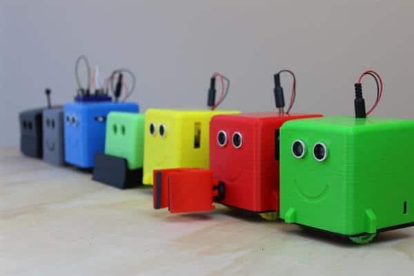 رباتهای پرینت سه بعدی شده، ابزاری برای آموزش کودکان