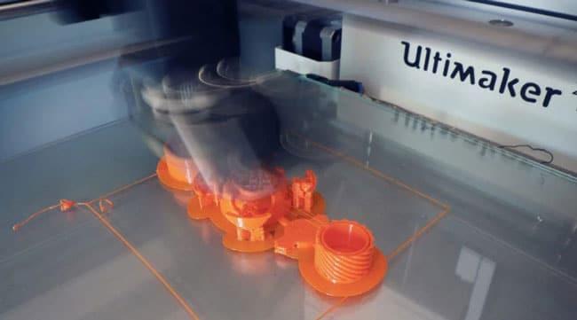 علت عدم چاپ صحیح بخشهای ظریف مدل پرینتر سه بعدی