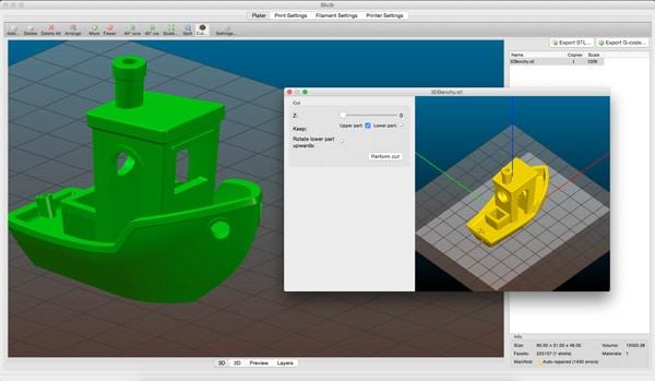 نرم افزار چاپگر سه بعدی